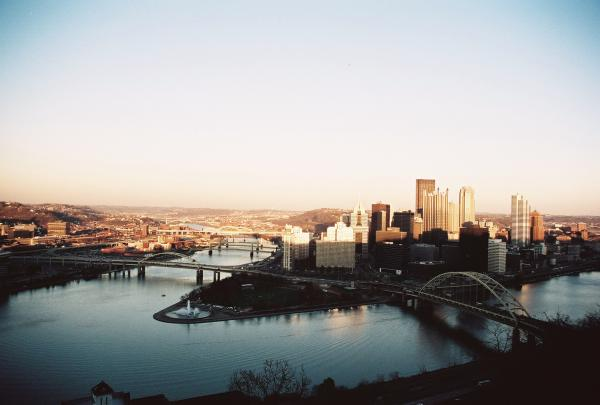 Pittsburgh Twighlight Print by Jonathan Michael Bowman