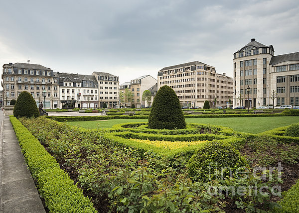 Place Des Martyrs, Luxembourg City, Luxembourg, Europe Print by Jon Boyes