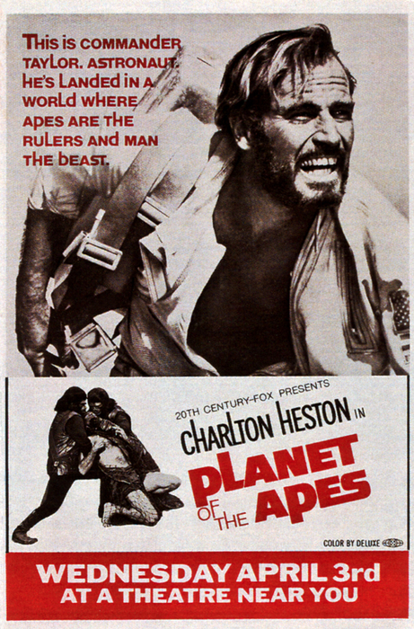 Planet Of The Apes, Top Charlton Print by Everett