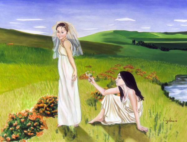 Playing Print by Gloria Cigolini-DePietro