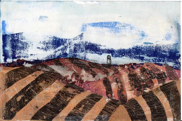 Plowed Spring Print by Jame Hayes