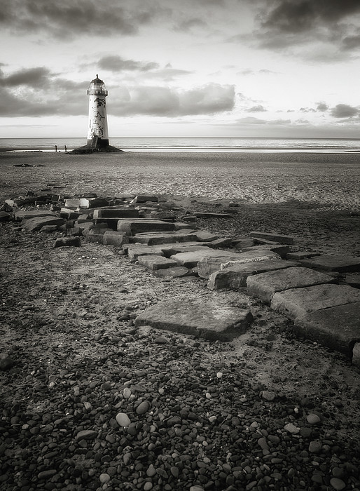Point Of Ayre Lighthouse Print by Jon Baxter