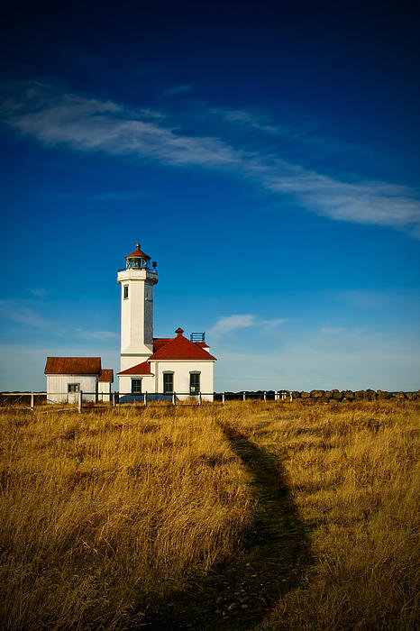 Point Wilson Lighthouse Print by Dan Mihai