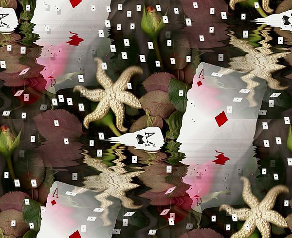 Poker Pop Art All In Print by Pepita Selles
