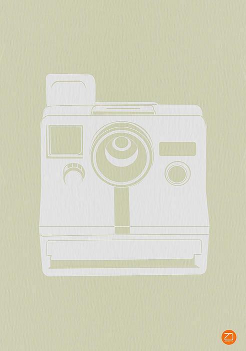 Polaroid Camera 2 Print by Naxart Studio