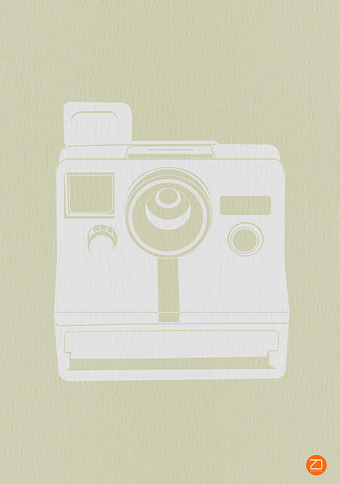 Polaroid Camera 3 Print by Naxart Studio