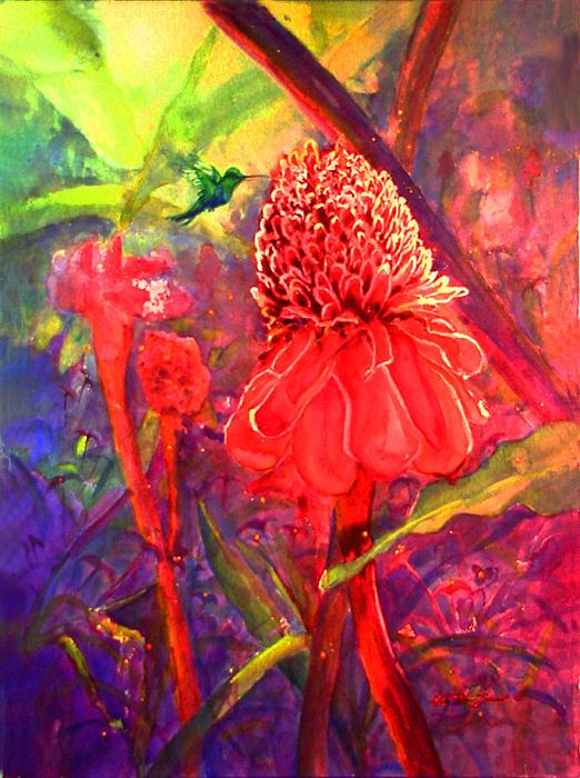 Pollen Print by Estela Robles