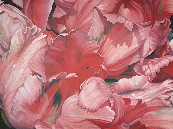 Pollyflower Print by - Harlan
