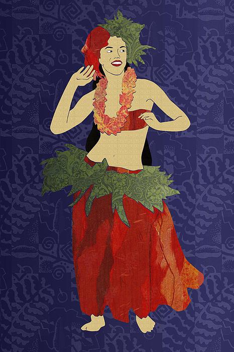 Janet Carlson - Polynesian Dancer