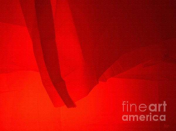 Poncho Abstract 7 Print by Jeff Breiman