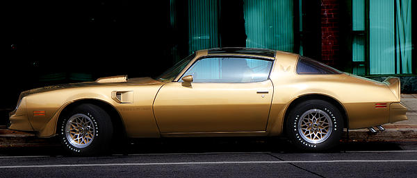 Pontiac Trans Am Print by Andrew Fare