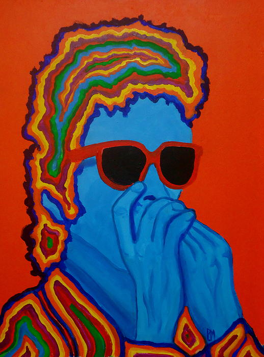 Pop Dylan Print by Pete Maier