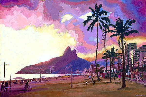 Douglas Simonson - Ipanema at Sunset