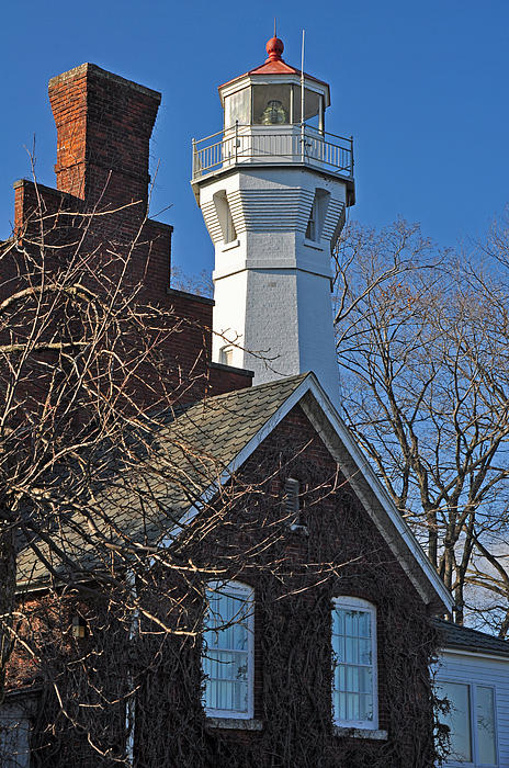 Ginger Harris - Port Sanilac Lighthouse in Early Spring
