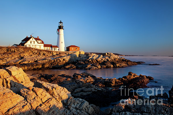 Portland Head Lighthouse Print by Brian Jannsen