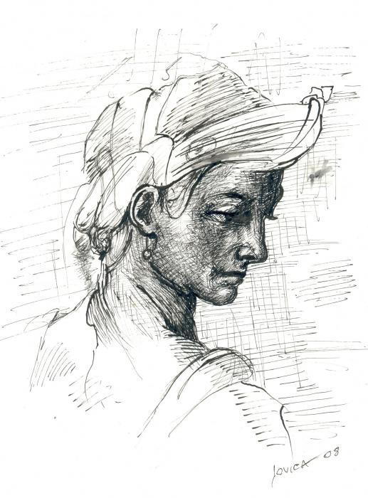 Portrait Print by Jovica Kostic