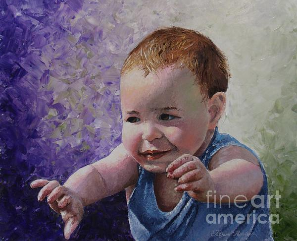 Tatjana Popovska - Portrait of a Boy - Catch me