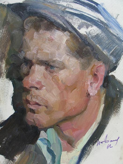 Ivan Filichev - Portrait of a Soviet Worker