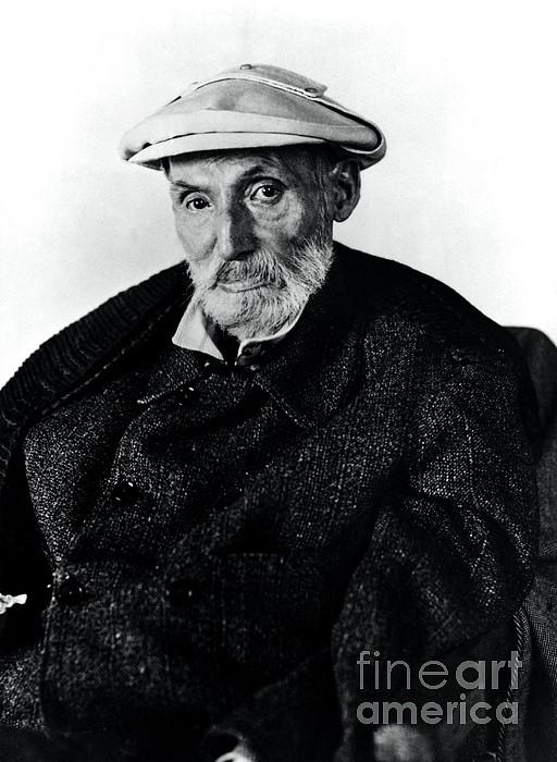 Portrait Of Renoir Print by Photo Researchers