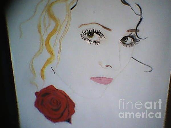Cherryl Fernandez - Portrait Painting WIP