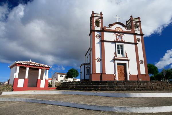 Portuguese Church Print by Gaspar Avila