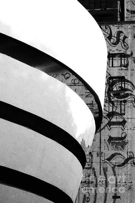 Postcard From The Guggenheim Print by Anahi DeCanio