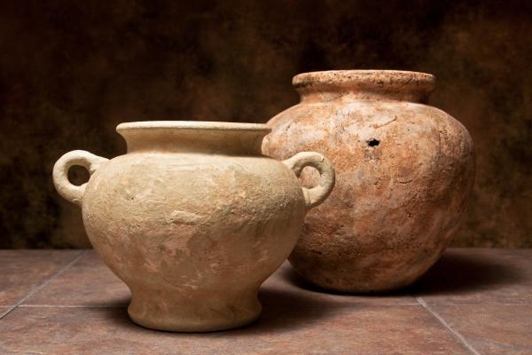 Pottery I Print by Tom Mc Nemar