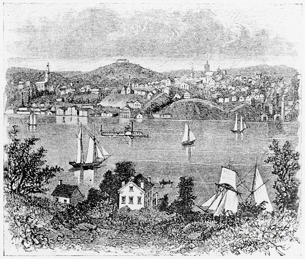 Poughkeepsie, C1840 Print by Granger