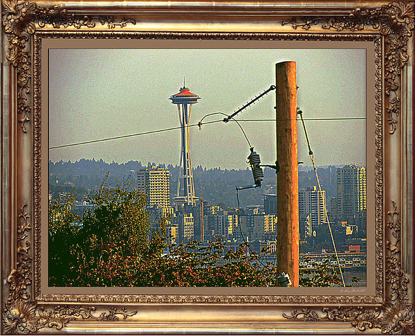 power Poles as Art - 6 Print by Larry Mulvehill