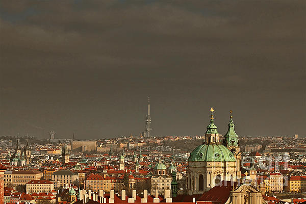 Prague - A Symphony In Stone Print by Christine Till