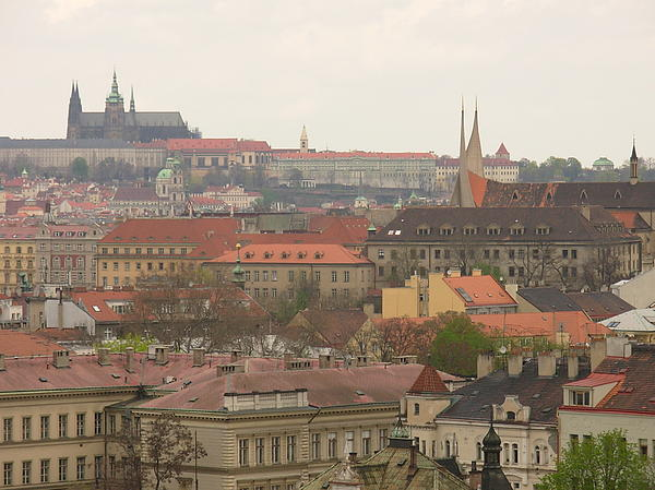 Erica Breetz - Prague Castle