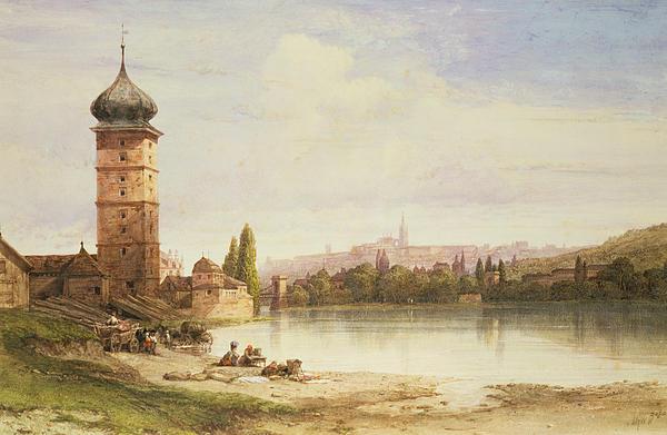 Prague Czechoslovakia Print by William Wyld