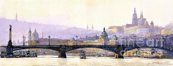 Yuriy  Shevchuk - Prague Panorama Cechuv Bridge variant