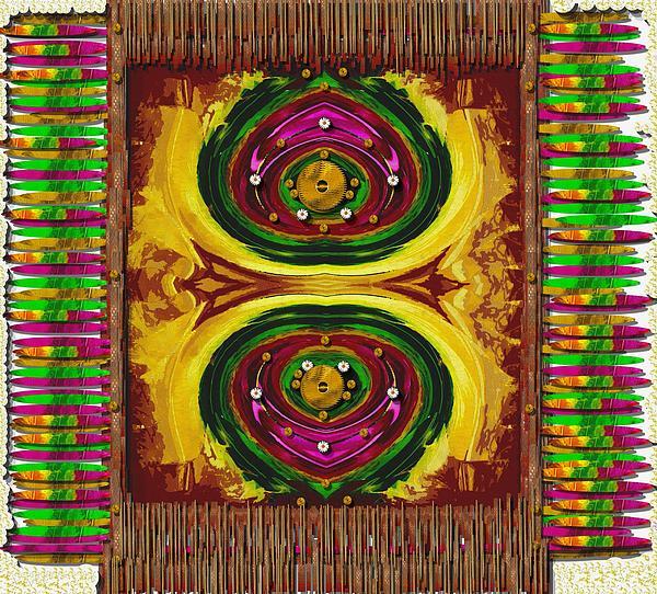 Prayer Rug Print by Pepita Selles