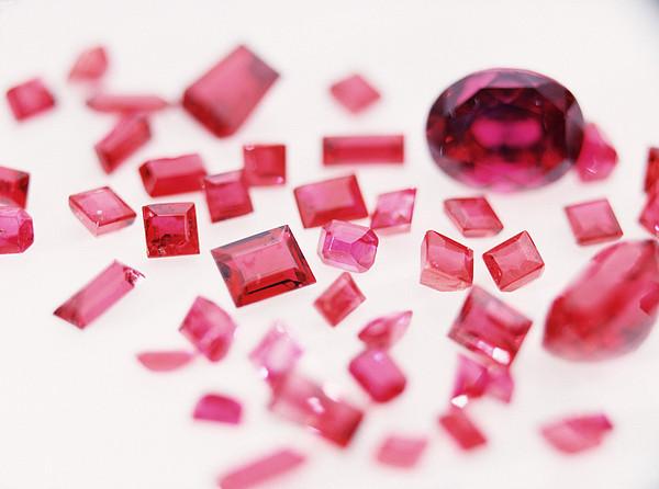 Precious Gemstones Print by Lawrence Lawry