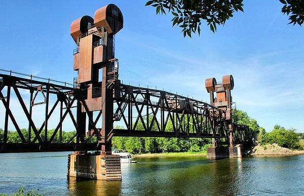 Prescott Lift Bridge Print by Kristin Elmquist