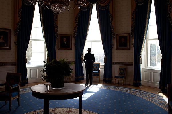 President Barack Obama The Day Print by Everett