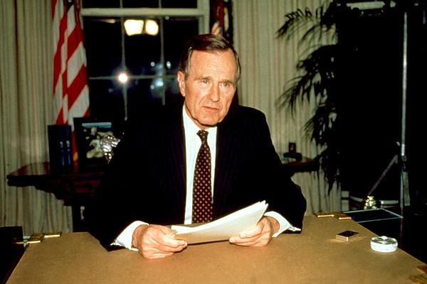 President George Bush Print by Everett