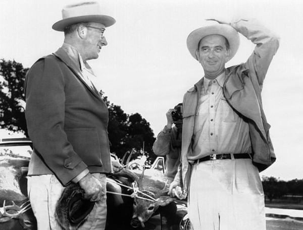 President Lyndon Johnson Entertains Print by Everett