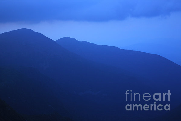 Presidential Range - White Mountains Nh Usa Print by Erin Paul Donovan