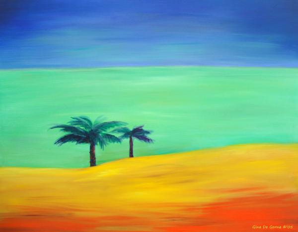 Pretty simple by gina de gorna for Simple easy paintings