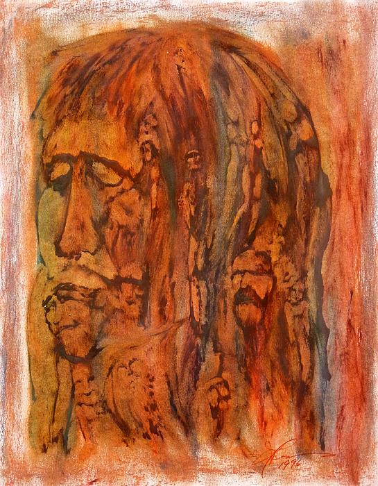 Primal Ancestry Print by Linda May Jones