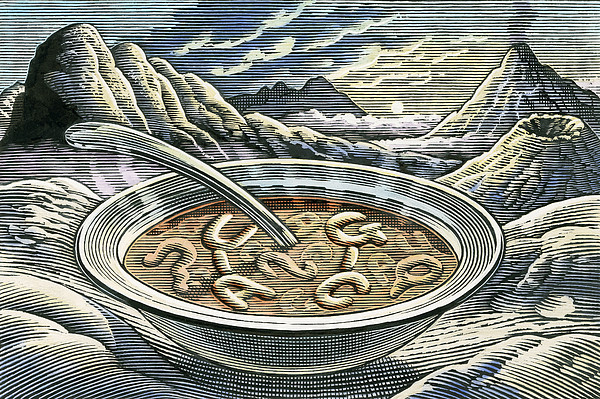 Primordial Soup Print by Bill Sanderson