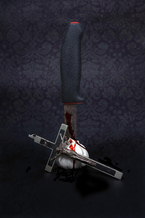 Protection Against Vampires Print by Joana Kruse