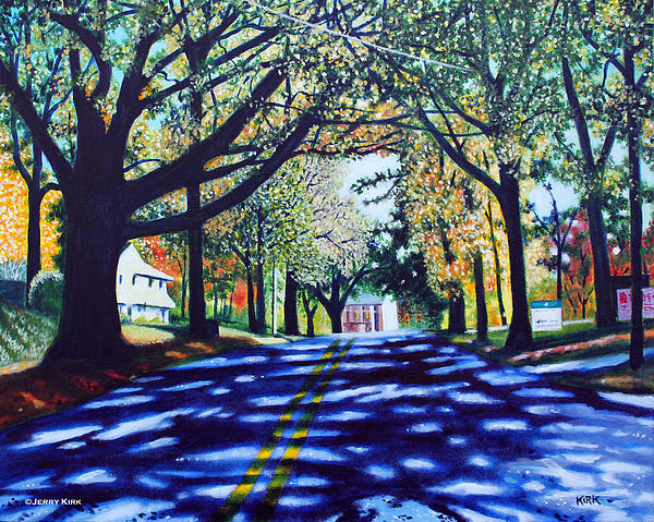 Providence Road Print by Jerry Kirk