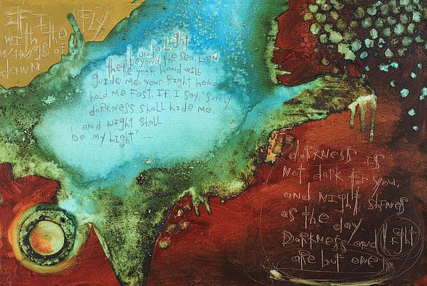 Psalm 139  Print by Michel  Keck