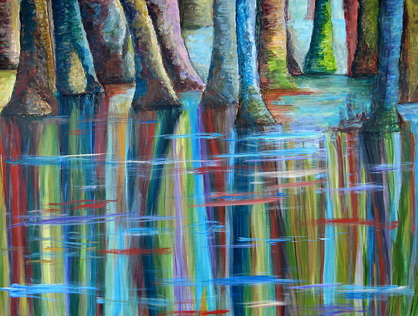 Mary Beth Cowin Salaun - Psychedelic Swamp