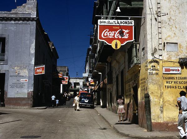 Puerto Rico. Street In San Juan, Puerto Print by Everett