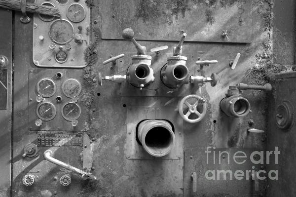 Pumper Panel Photograph  - Pumper Panel Fine Art Print