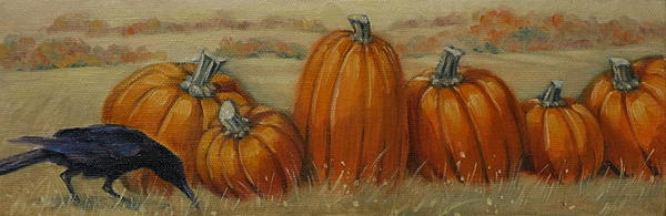 Linda Eades Blackburn - Pumpkin Row